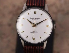 Citizen Young Homer 1960s Manual 34mm Vintage Men's Made in Japan Watch ... - $649.88