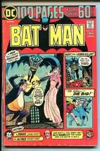 BAT MAN #257-1974-DC-ROBIN-ALFRED-JOKER-PENGUIN-100 PAGES-fn minus - $32.79