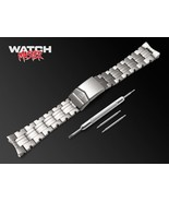 22mm For TAG Heuer Watch Stainless Steel Bracelet Strap Band Silver L316... - $47.90