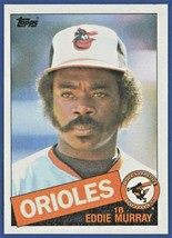 1985 Topps Eddie Murray Baltimore Orioles #700 Hall of famer Baseball Card! - $1.29