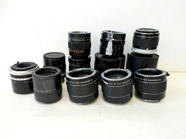 3X Tele-Converters Lenses Lot of 10 Vivitar, Soligar, Sears for Pentax, etc. - $39.59