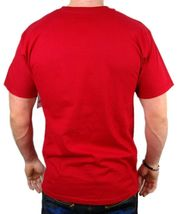 NEW NWT LEVI'S MEN'S PREMIUM CLASSIC GRAPHIC COTTON T-SHIRT SHIRT TEE RED image 4