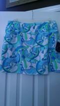 Nwt Ladies Ibkul Icikuls Karin Periwinkle Knit Golf Tennis Straight Skort S 4 6 - $67.99