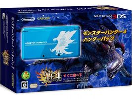 Nintendo 3DS Monster Hunter 4 Hunter Pack Limited Edition Japan Console - $380.00