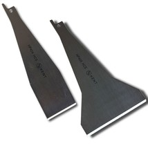Set of 2 Assorted KENT SCRAPERs Attachment Blades for Reciprocating Saw - $18.61