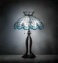 Tiffany Style RoseBorder Table Lamps Blue - $1,188.00