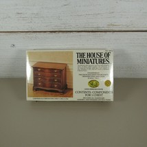 The House of Miniatures Kits Chest No. 40050 FACTORY SEALED  - $12.84
