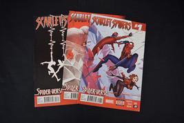 Scarlet Spiders Comic Lot Books Set 1 2 3 VG FN Spider-Man Spider-Verse - $14.12