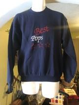Vintage Fruit of The Loom Best Pops Adult Medium M Crewneck Sweatshirt USA - $49.49