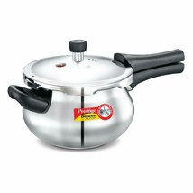 Prestige Deluxe Alpha Outer Lid Stainless Steel Pressure Cooker, 3.3 Lit... - $89.08