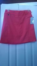 Nwt Ladies Lisette L Sport Coral Pullon Stretch Slimming Golf Skort - Size 10 - $43.99