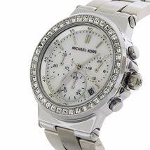 Michael Kors MK5585 Blair Mother Pearl Glitz Silver Women's Watch - $119.90