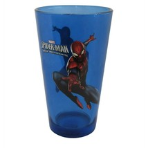 Spider-Man Leap Blue Pint Glass Blue - $18.98