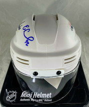EVGENY KUZNETSOV / AUTOGRAPHED WASHINGTON CAPITALS MINI HOCKEY HELMET / COA image 3