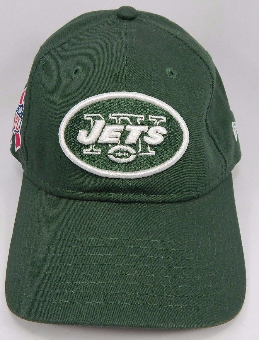 b1609b817 S l1600. S l1600. Previous. New York Jets New Era Women's 9Forty 940  Adjustable Breast Cancer Aware Cap Hat