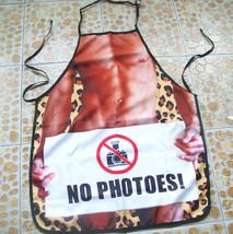 Nude Man designed sleeveless apron - $25.00