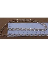 25 Ft GOLD Plated 3x7mm Diamond Link Chain ~ Long+Short ~ 25 Feet No Nickel/Lead - $14.84
