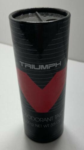 Avon Triumph Deodorant Talc Power New Old Stock 3.5 oz - $11.30