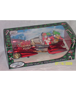 Holiday Hot Wheels Santa's Speedster 2002 Mattel 1/18 scale Larry Wood designer - $30.00