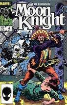 Moon Knight (2nd Series), Edition# 4 [Comic] [Oct 01, 1985] Marvel - $4.89