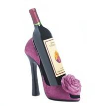 Wine Bottle Holder High Heel, Wine Holder Table - Polyresin, Pink - $31.83