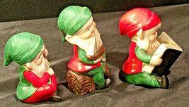 Holiday Elf Figurines AA-192053 Vintage Santa's helpers! image 3