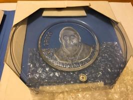 Val St. Lambert Old Masters El Greco Belgium Crystal Plate 1971 - $14.80