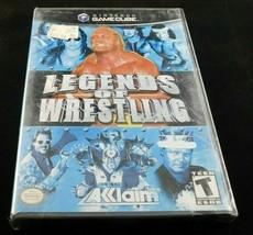 Legends of Wrestling (Nintendo GameCube, 2002) Factory Sealed New - $19.75
