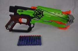 NERF Zombie Strike CROSSFIRE Crossbow with 10 Darts - $18.00