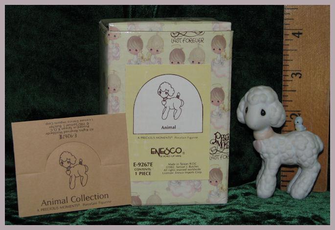 Lamb Precious Moments Figurine 1982 No. E-9267E
