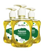 Herbion Naturals Neem Hand Soap with Neem Extract, 8.45 FL Oz (Pack of 3)  - $19.99