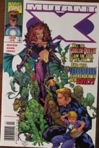 Marvel Comics MUTANT X Vs. The Goblin Queen &Havok Vol. 1 No. 4 January ... - $1.95