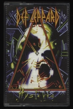 Def Leppard Hysteria Unofficial Russian tape audio cassette  - $15.00