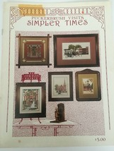Puckerbrush Visits Simpler Times Counted Cross Stitch Pattern Victorian ... - $4.00