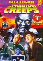 THE PHANTOM CREEPS - VOLUME 1: CHAPTERS 1-6 NEW DVD - $26.50