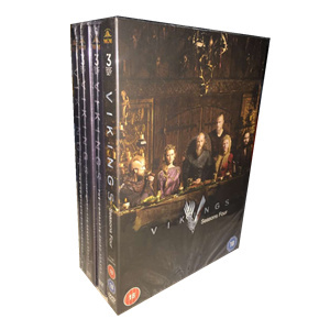 Vikings The Complete Series Seasons 1-4 1,2,3,4 DVD BoxSet 15 Disc Free Shipping