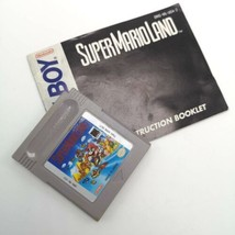 Game Boy Game SuperMarioLand Cartridge AND Manual 1989  TESTED - $29.95