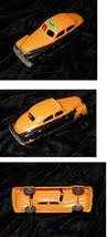 Orange & Black Plastic Taxi Car Vintage Hubbley Kiddie Toy - $16.99