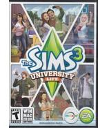 Sims 3: University Life Expansion Pack (Windows/Mac, 2013) (Requires Sim... - $13.86