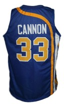 Larry Cannon #33 Indiana Basketball Jersey Sewn Blue Any Size image 2