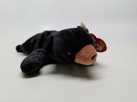 Blackie The Bear Beanie Baby 93/94 ERROR Clean w/ Tags - $12.75