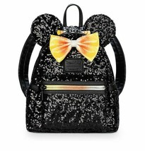 Disney Parks Loungefly Candy Corn Mickey Halloween Backpack NWT  - $64.35