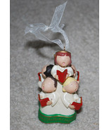 "Hallmark Hark The Herald Angels Sing Hymn Christmas Ornament Decoration 4""  - $14.80"