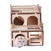 Panda Legends [C] Hamster Wooden Toy Hamsters DIY Habitat Pet Supplies f... - $20.67