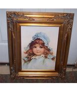 Gold Frame with Picture of Girl - $93.18