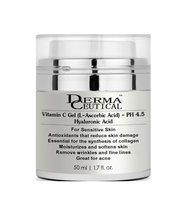Vitamin C pH 4.5 with Pure Hyaluronic Acid Anti Aging GEL – DermaCeutical - $19.00+