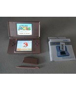 FULLY TESTED Original Nintendo DS Lite Rose Handheld System With Charger - $42.56