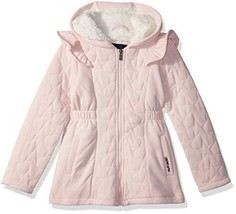Limited Too Girls Star Quilted Fleece Jacket