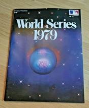 1979 World Series Baseball Program Pittsburgh Pirates Baltimore Orioles - $12.86