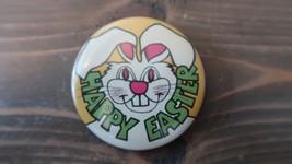 2.25 inch CREEPY Happy Easter Bunny Pin - $18.70